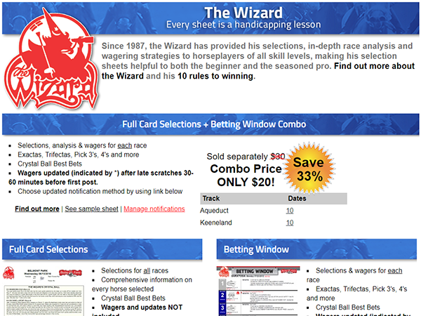 Wizard betting window betting stats software